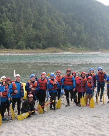 BHOTE KOSI Whitewater Rafting