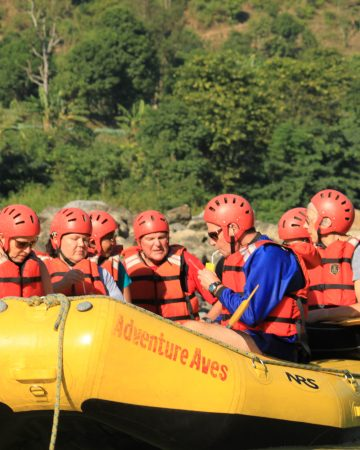 Whitewater Rafting MARSYANDI